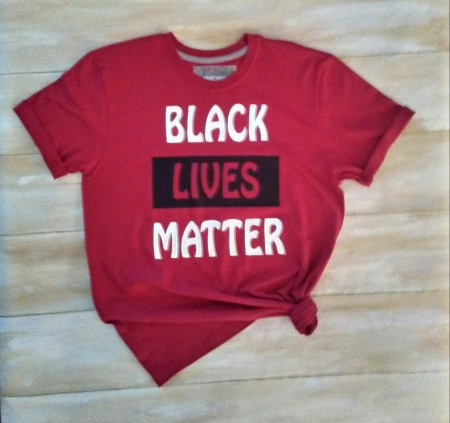 Black Lives Matter, Black/White Tshirt